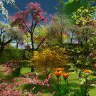 The garden of Eden by Annika Strömgren