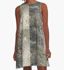 cement 2 A-Line Dress