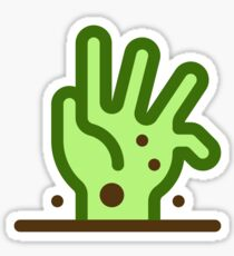 RUN!!! Undead has rissen?! Sticker