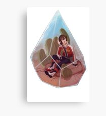 Paladin Terrarium - Red Canvas Print