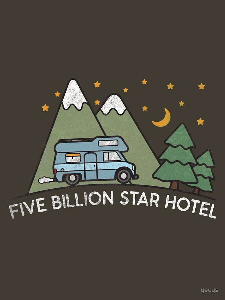Campervan: 5 Billion Star Hotel Camping Gift von yeoys
