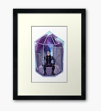 Paladin Terrarium - Black Framed Print
