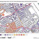 Multiple Deprivation Fulham Broadway ward, Hammersmith & Fulham by ianturton