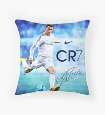 Cristiano Ronaldo sign Throw Pillow