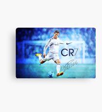 Cristiano Ronaldo sign Metal Print