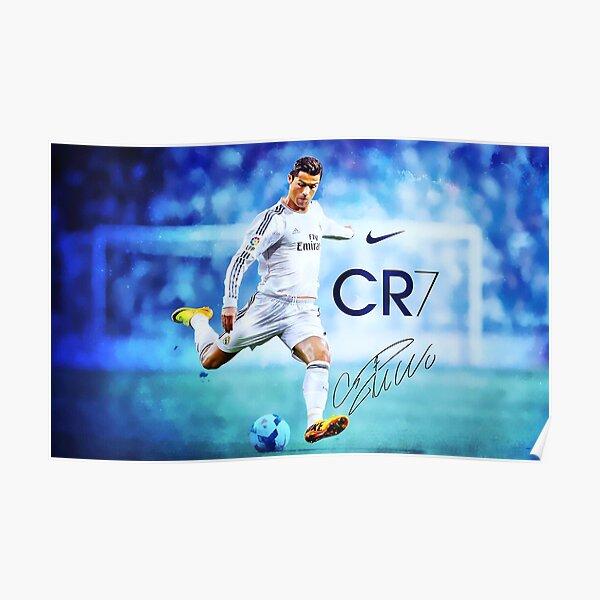 Cristiano Ronaldo sign Póster