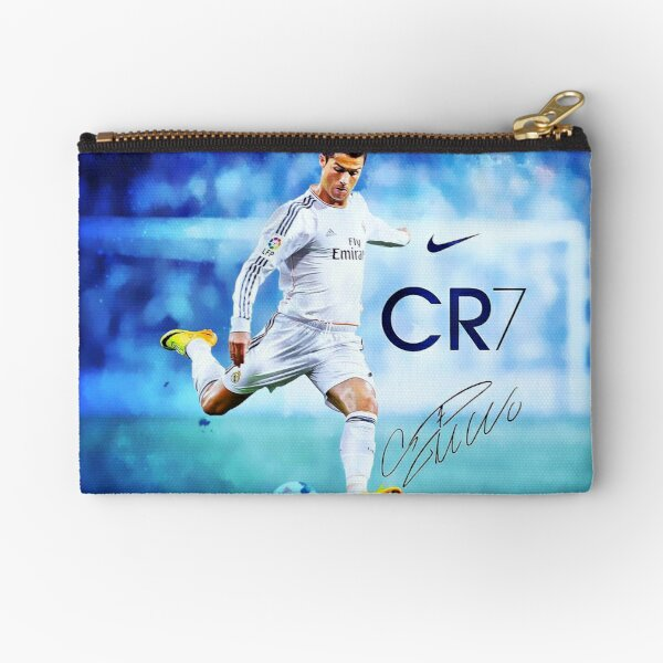 Cristiano Ronaldo sign Zipper Pouch