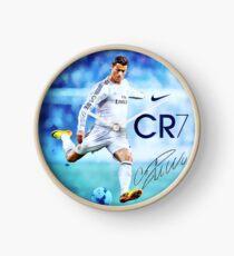 Cristiano Ronaldo sign Clock