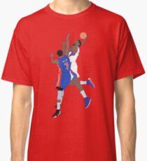 DeAndre Jordan Dunk On Brandon Knight Classic T-Shirt