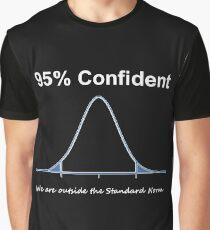 95% Confident Graphic T-Shirt