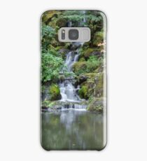 Portland Japanese Garden Waterfall Samsung Galaxy Case/Skin