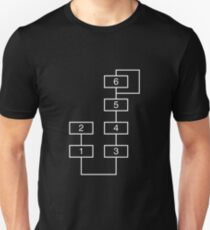 DX7 Synthesizer Algorithm 1 Unisex T-Shirt
