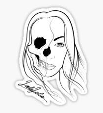 Jade Jolie 'The Undead' T-Shirt Sticker