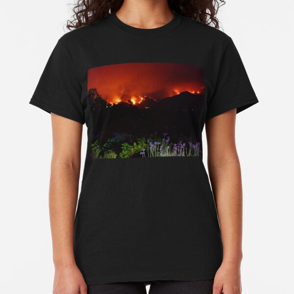 Mountains on Fire Classic T-Shirt