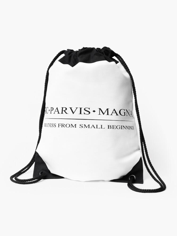Sic Magna De Parvis Translation NegroMochila Cuerdas W f6bgy7