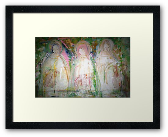 """""""women at the well"""" by catherine walker"""