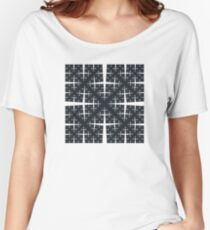 Cesàro Fractal - Square Filled Women's Relaxed Fit T-Shirt
