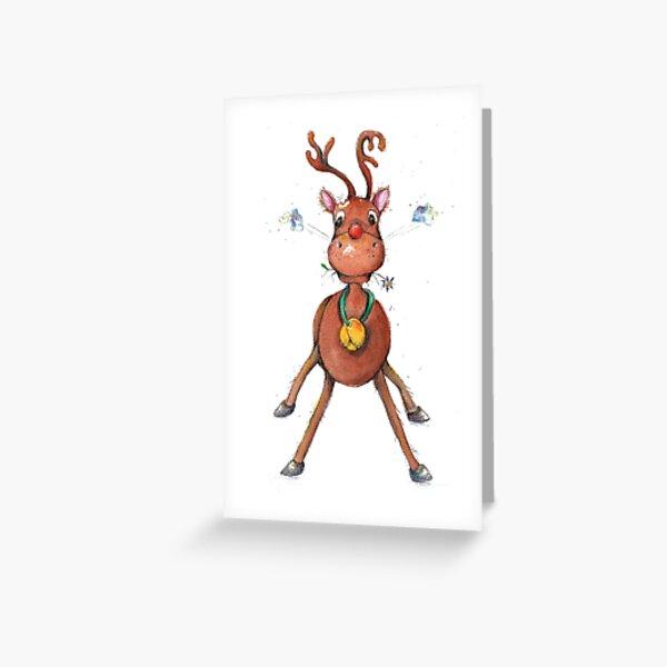 Raindeer Toto Greeting Card