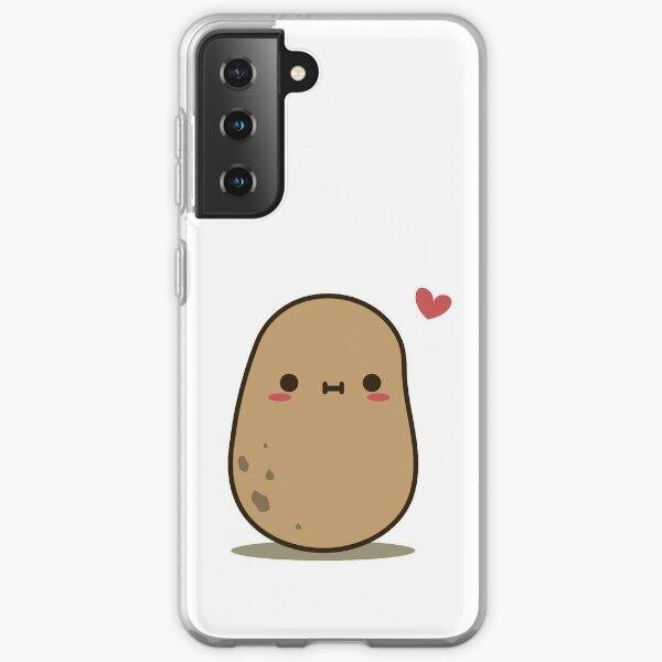 Cute Potato in love Samsung Galaxy Soft Case
