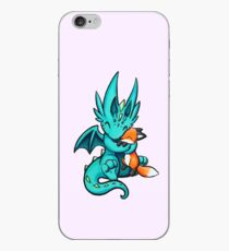 Dragon with Fox Friend iPhone Case