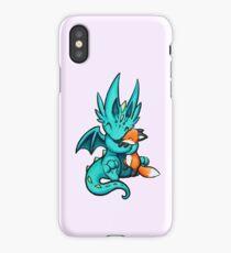 Dragon with Fox Friend iPhone Case/Skin