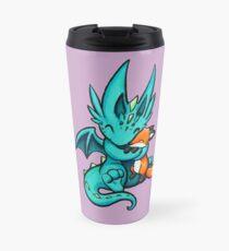 Dragon with Fox Friend Travel Mug