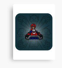 Karting. Canvas Print