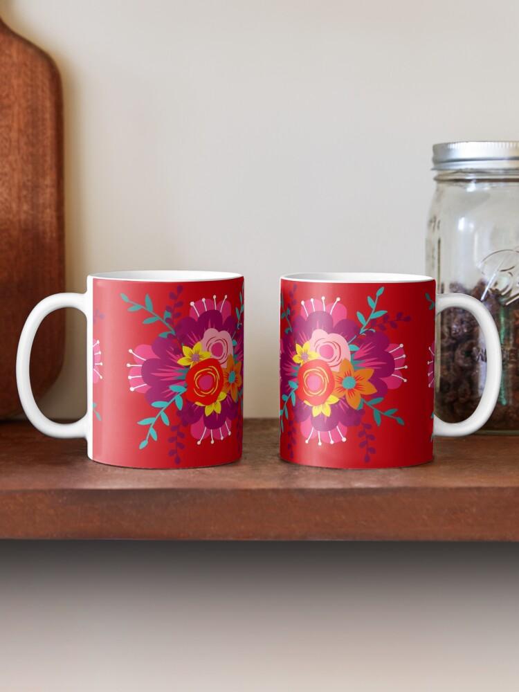 Alternate view of How to Walk Away Bouquet Mug