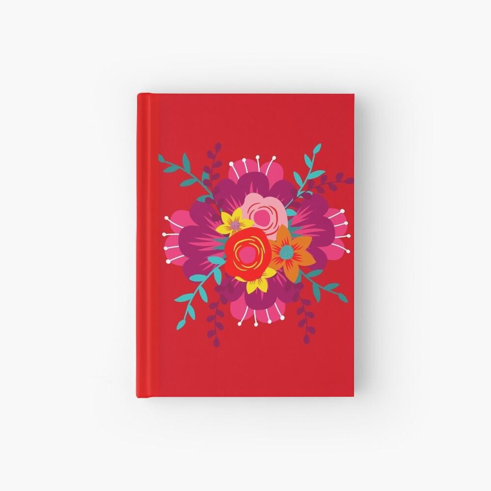 How to Walk Away Bouquet Hardcover Journal