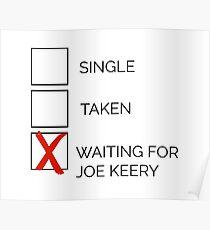 Póster X: esperando a Joe Keery
