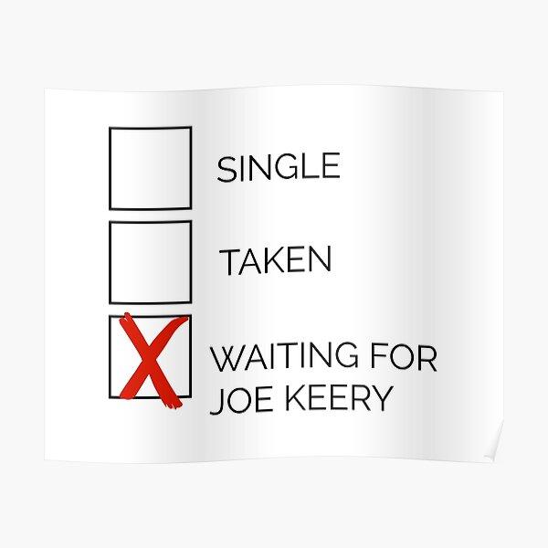 X: Waiting for Joe Keery Poster