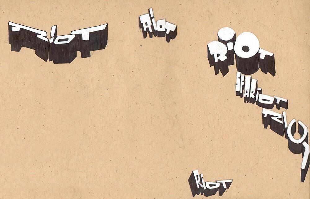 riot sketches by antony hamilton