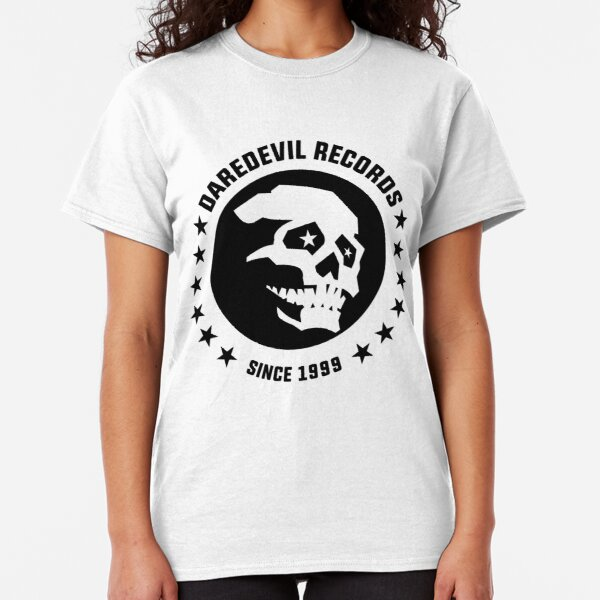 DAREDEVIL RECORDS SKULL Classic T-Shirt