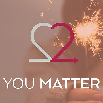 You Matter Perfect Peach Card by Choose2Matter