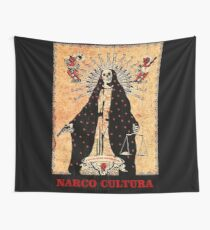 Narco Cultura Wall Tapestry