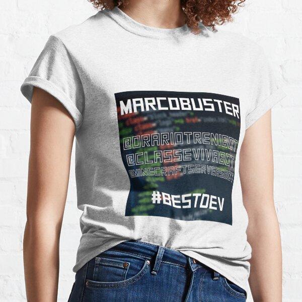 Marcobuster #bestdev Classic T-Shirt