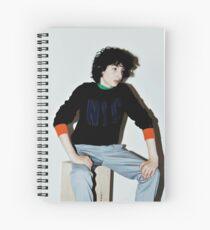 Celebrity: Finn Wolfhard Spiral Notebook