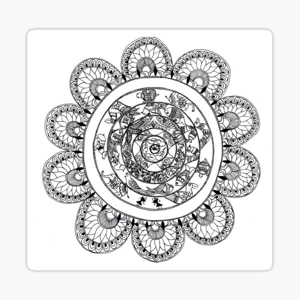 Created to Bloom - ArtResponses Sticker