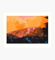 Marmalade / Sherbet Skies Art Print