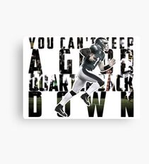 You Can't Keep A Good Quarterback Down / Carson Wentz / 23rd October Philadelphia Eagles vs Washington Redskins Canvas Print