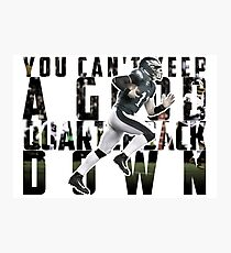 You Can't Keep A Good Quarterback Down / Carson Wentz / 23rd October Philadelphia Eagles vs Washington Redskins Photographic Print
