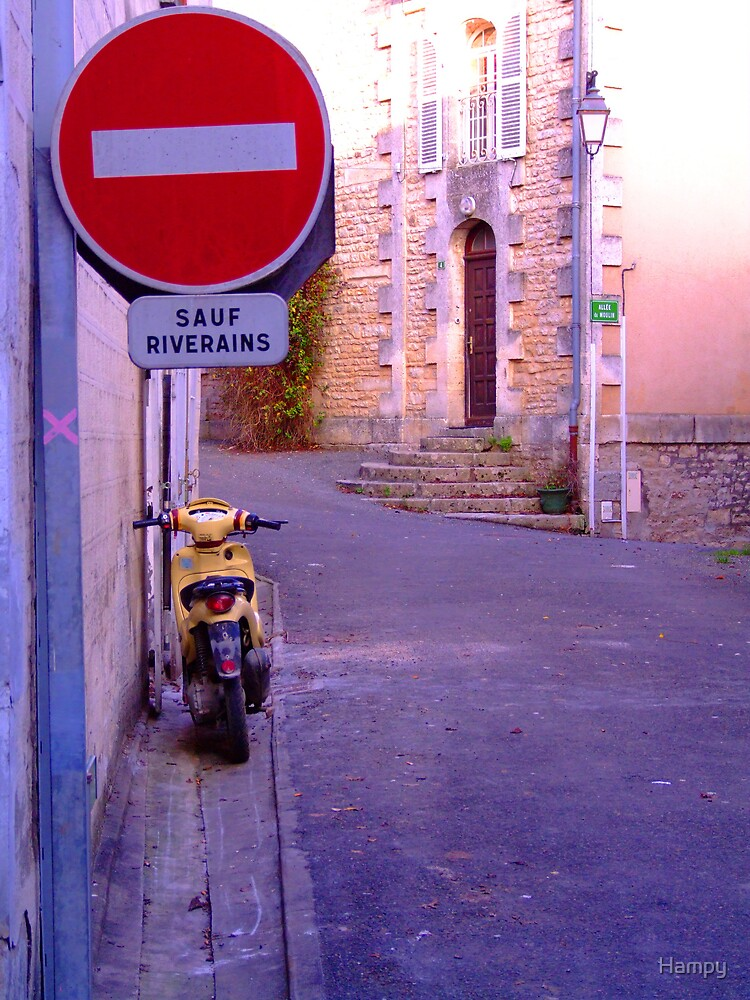 Verteuil, France by Hampy