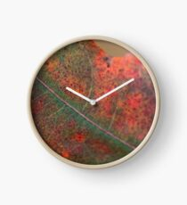 Autumn leaf color  2017 . no.2.  © Dr.Andrzej Goszcz Clock