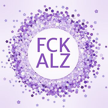 FCK Alzheimer's Flower Wreath by fckalz