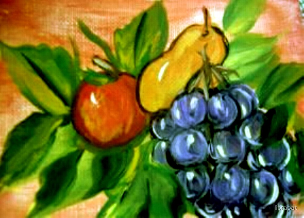 Fruits Still Life - Acrylic Painting  by librapat
