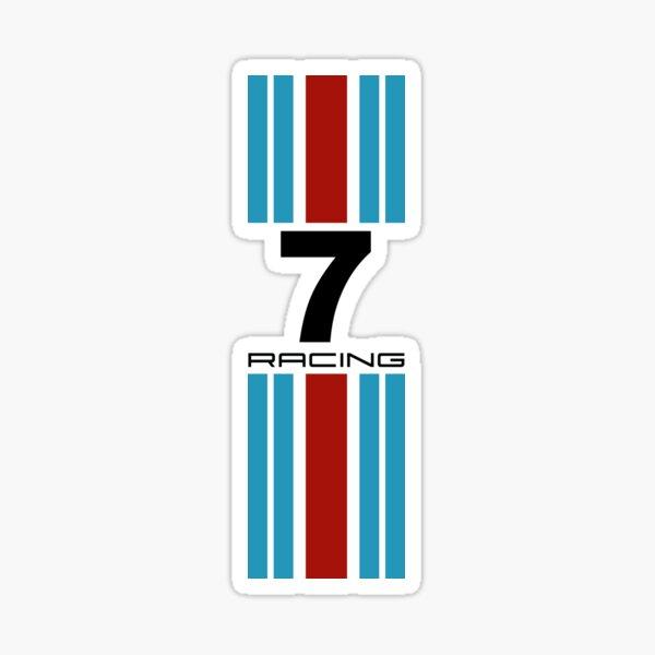 Couleurs de course No7 Sticker