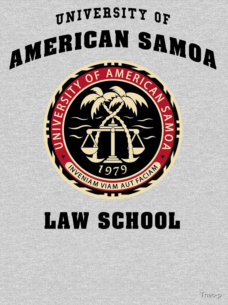 BCS - Universität von Samoa Law School von Theo-p