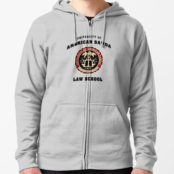 BCS - University of American Samoa Law School Zipped Hoodie