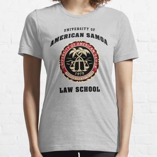 BCS - University of American Samoa Law School T-shirt essentiel