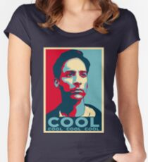 ABED NADIR COOL Women's Fitted Scoop T-Shirt